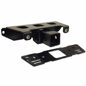 KFI 2 Inch Upper Front Receiver Hitch - 2013-17 Full Size Polaris Ranger w  Pro-Fit Cage