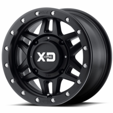 KMC XD XS228 Machete Beadlock Wheel Set w| Lug Nuts - 14 and 15 Inch