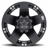 KMC XS775 Rockstar 1 Wheel Set w| Lug Nuts - 14 and 15 Inch