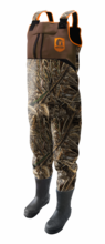 Men's Throttle Series Camo Wader with Orange Accents by Gator Waders