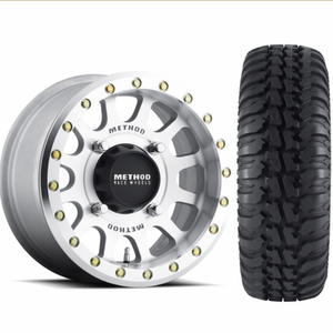 Method 401 Machined Beadlock Wheels w| Tensor Regulator A|T Tires