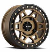 Method 405 Bronze Beadlock Wheel Set - 14 and 15 Inch