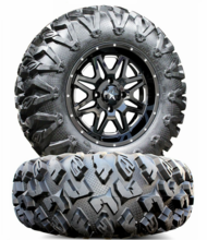MSA M26 Vibe Milled Wheels w| EFX MotoClaw Tires