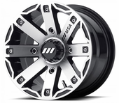 MSA M27 Rage Wheel Set w| Lug Nuts - 12x7