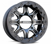 MSA R-Forged F1 Beadlock Wheel Set w| Lug Nuts - 14x7