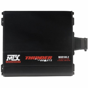 MTX Audio 200W RMS 2-Channel Amplifier