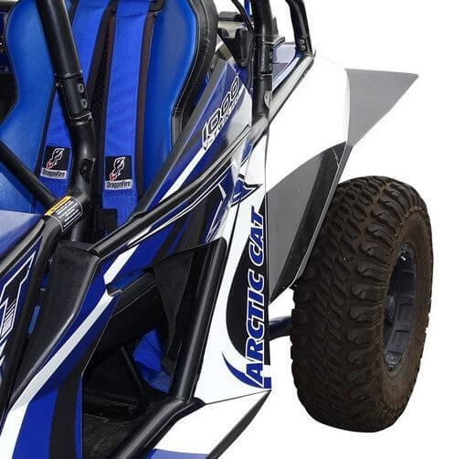 Mud-Busters Arctic Cat Wildcat Fender Flares - Side By Side Stuff on golf cart wings, golf cart push bar, golf cart tailgate, golf cart hoods, golf cart winches, golf cart tricycle, golf cart bug shield, golf cart mud buggy, golf cart side rails, golf cart 4 inch lift, golf cart skid plate, golf cart wheel well flares, golf cart tow package, golf cart traction bars, golf cart pinstripes, golf cart headers, golf cart exterior, golf cart roof rails, golf cart air intake, golf cart board,