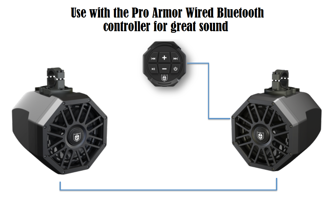 pro armor 8 inch tower speakers w wiring harness 79 pro armor 8 inch tower speakers with wiring harness pro armor sound bar wiring diagram at cos-gaming.co