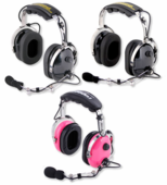 Standard Pro-Series Over-The-Head 2-Way Headset by Rugged Radios