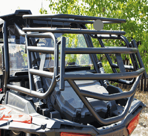 Rear Cargo Rack w| Tailgate by Razorback Offroad - Polaris RZR XP 1000