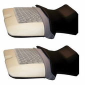 Seat Warmers w| On|Off Switch by Heat Demon | Sold in Pairs |