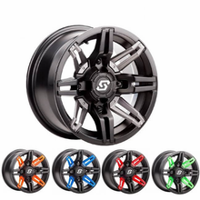 Sedona Rukus Wheel Set w| Lug Nuts - 14x7