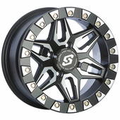 Sedona Split Six Beadlock Wheel Set w| Lug Nuts - 14 Inch