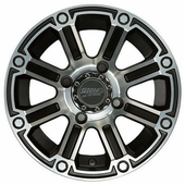 Sedona Viper Wheel Set w| Lug Nuts - 12 and 14 Inch