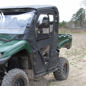 Seizmik Framed Door Kit w| Back Panel - 2014-15 Yamaha Viking 700 & Yamaha Viking Doors: SideBySideStuff.com