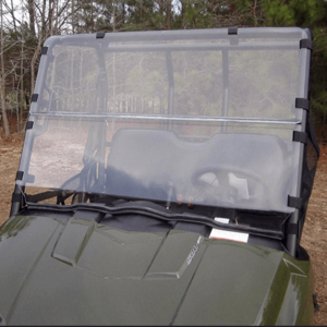 Seizmik Versa Shield Modular Full Front Windshield - 2010-14 Mid Size Polaris Ranger 400 | 500 | 570 | 800 | EV