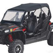 Soft Windshield, Top and Rear Window by Classic Accessories - Polaris RZR 4 800 | XP 4 900