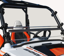 Spike Hard Coated Two Piece Front Windshield - Polaris RZR 570 | 800 | S 800 | XP 900