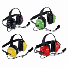 Standard Behind-The-Head 2-Way Headset by Rugged Radios