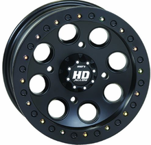 STI Black HD Beadlock Wheel Set w| Lug Nuts - 12 and 14 Inch