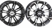 STI HD3 Wheels w| Lug Nuts - Machined or Gloss Black - 12 and 14 Inch