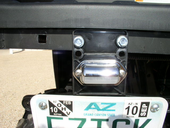 Universal LED License Plate Bracket