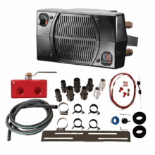 Universal UTV Cab Heater and Installation Kit by Aqua-Hot