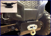 Winch Mount - Polaris ACE