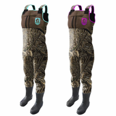 Women's Throttle Series Camo Wader with Accent Colors by Gator Waders