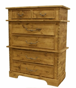 Alder 6 Drawer Chest