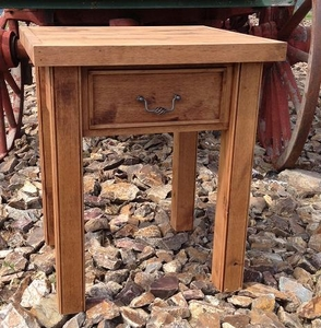 Alder One-Drawer Bedside Table