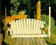 Cedar 4' Porch Swing