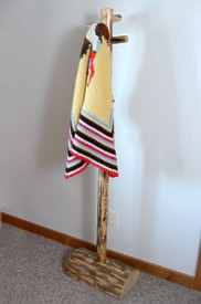 Four Peg North Country Coat Tree