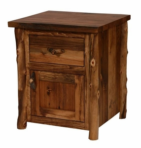 Homestead Aspen 1 Door Nightstand