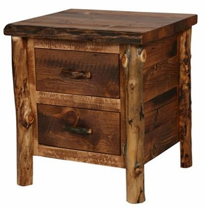 Homestead Aspen 2 Drawer Nightstand