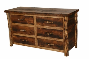 Homestead Aspen 6 Drawer Dresser