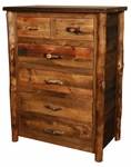 Homestead Aspen 6 Drawer Split Top Chest