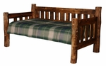 Homestead Log Daybed