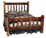 Homestead Steamboat Log Bed