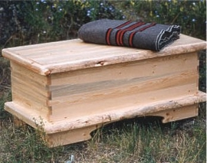 Hummingbird Blanket Box