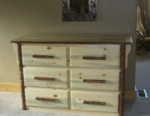Mission Mountain Six Drawer Dresser