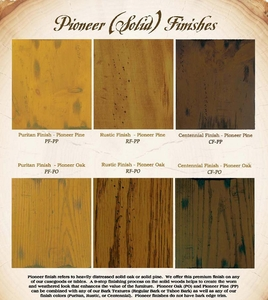 Pioneer Wood Options
