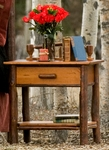 Wagon Wheel Nightstand