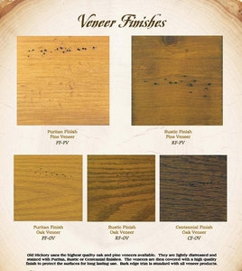 Wood Veneer Options