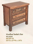 Woodland Three Drawer Night Chest