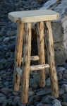 Wrangler Log Stool