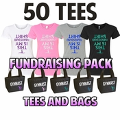 Fund Raising Packs Tees and Bags LARGE