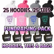 Fundraising Packs Hoodies, Tees, Bags