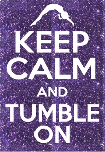 Keep calm and tumble transfer