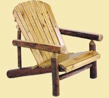 Old Hickory Adirondack Chair